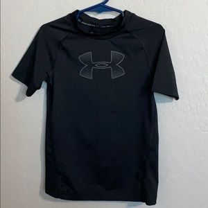 Under Armour fitted black shirt